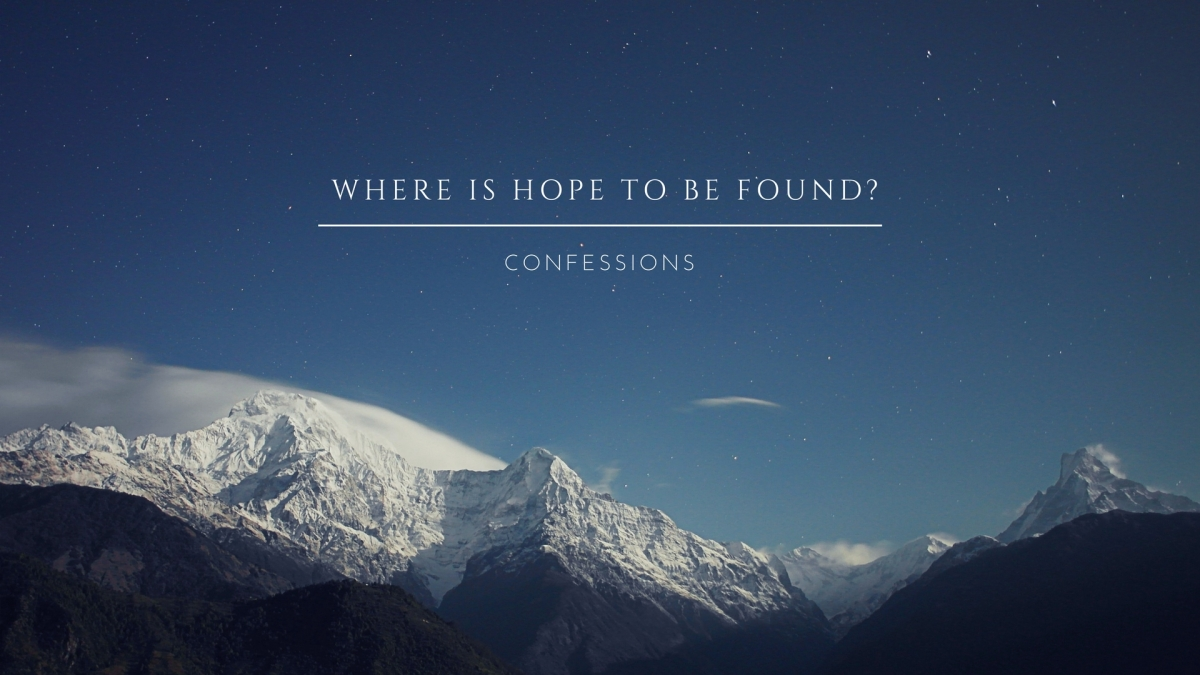 Where is Hope to be Found?